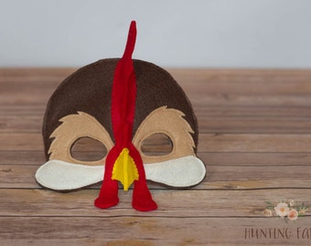 Ozzy or Leonard  Rooster Mask for Pretend Play
