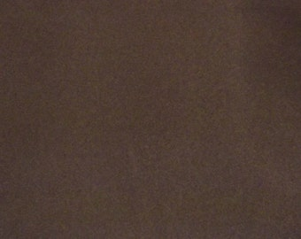 Discounted Brown Flocked Velvet Fabric for Upholstery Craft Supply Curtain Drapery/Drapes Material Sold Per Yard 54 inch Wide - For Sale!