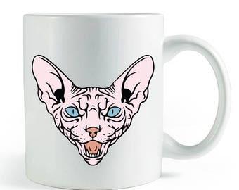 Tan Sphynx Mug