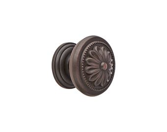 "1-1/4"" Dia. Cabinet Knobs - Solid Brass Cabinet Knobs - ORB"