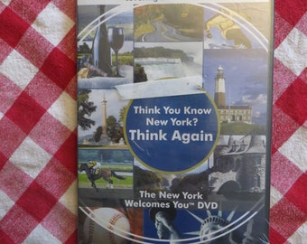 Think You Know New York? Think Again On DVD Vintage Sealed w/ free ship