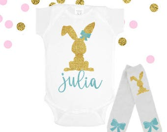 Baby Girl Easter Outfit, Girls Easter Outfit, My 1st Easter Outfit, First Easter Outfit, Baby's 1st Easter, Toddler Easter Shirt