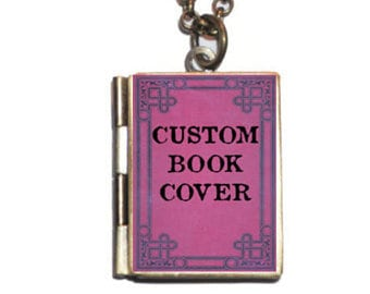 CUSTOM Book Locket (FULLY CUSTOMIZABLE) Family Photos Necklace, Keychain, Book Mark, Mother's Day, New Baby, Gift, Family Photos,
