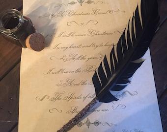 Calligraphy inkwell etsy