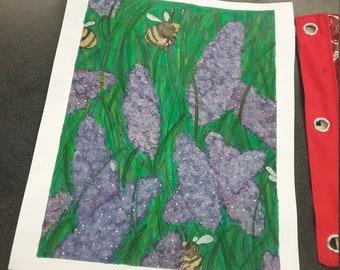 Lavender Dream print