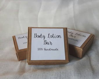 Cocoa butter- Beeswax- Body Lotion Bar