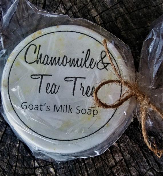 Chamomile Tea Tree Goat's Milk Soap (Set of 3)