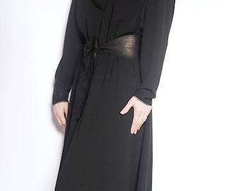 Vintage Susan Small black evening dress (UK 12)