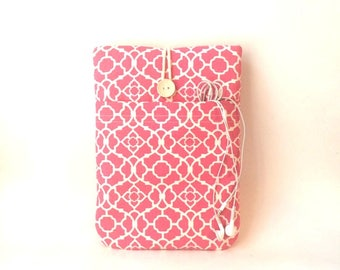Ladies MacBook 12 Case, MacBook 12 Sleeve, MacBook 12 Cover, MacBook 12 Bag, 12 MacBook Case, 12 MacBook Sleeve, Women's Laptop Case, Pink