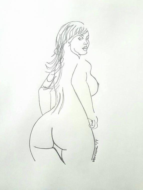 girl-nude-girl-booty-drawing