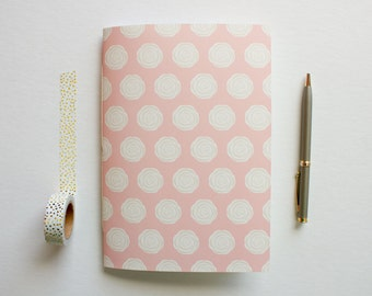 floral school, floral journal, small sketchbook, writing journal, bridesmaid gift, travel journal, lined journal, cute notebooks, floral
