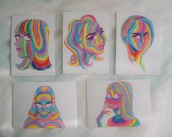Rainbow Set B