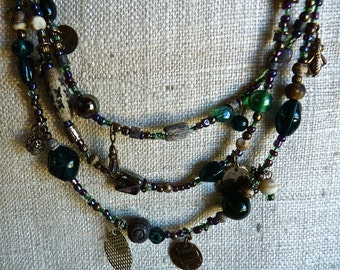 STEAMPUNK STYLE  Necklace VINTAGE