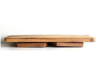 Beechwood folding meditation bench