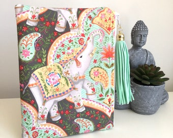 Elephant Padded Pouch Jewelry Pouch Gift Card Bag