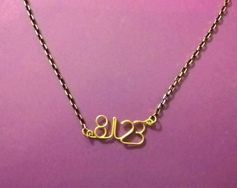 Lyric Necklace - 8123
