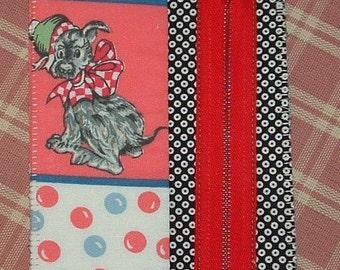 Zipper the Dog postcard