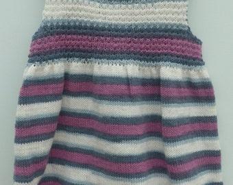 SALE - Gorgeous little girls blueberry dress
