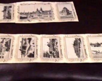 Antique 1893 World Fair Souvenir Building Photo Collection
