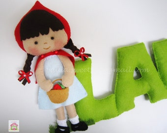Little Red Riding Hood Sign / Name banner