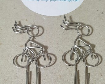 1 Awesome Bicycle Rider Paperclip