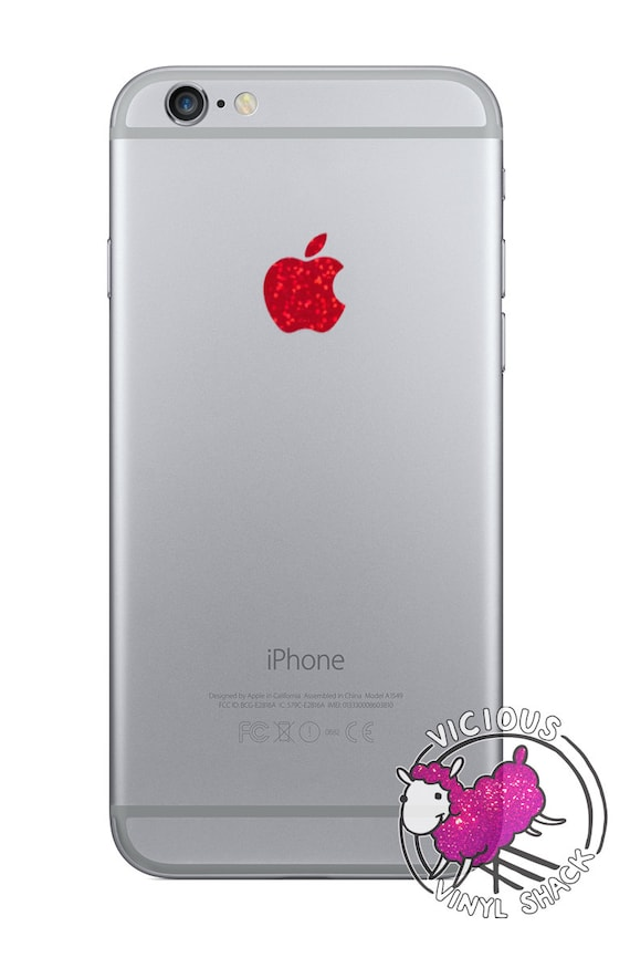 Apple logo color changer for iphone 6 6 plus vinyl decal