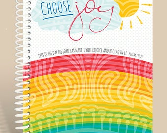 Choose Joy Prayer Journal / Notebook / Personalized Notebook / Prayer Notebook / Psalm 118