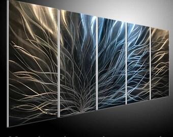 METAL WALL ART metal painting wall art. metal wall art. metal panitng sculputre wall.3D sculpture wall art home decor metal sculpture line & Metal wall art | Etsy