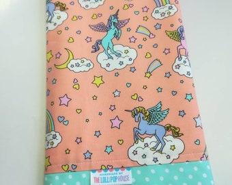 Baby blanket - Flannel Blanket - Baby girl blanket - Swaddle blanket- Security Blanket - stroller blanket - Travel blanket - Unicorn