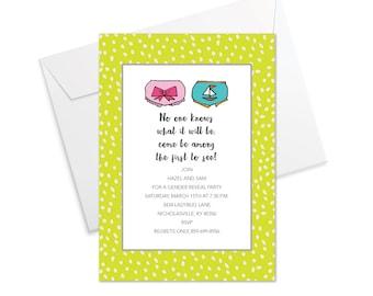 Baby Bloomers Invitation
