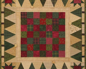Holiday Games Quilt Pattern PDF by Jen Daly Quilts - Instant Download