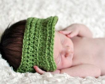 Newborn Crochet Visor, photo prop, baby, summer, sun, hat,