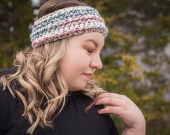 Made to order // Crochet // Headband // Ear warmer // Winter // Cozy // Warm//