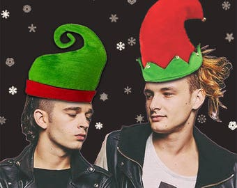 Matty and George The 1975 Christmas Card
