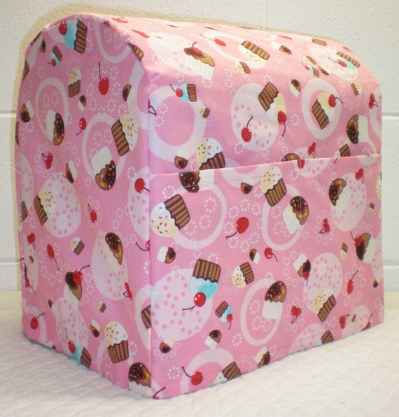 Pink Cupcake KitchenAid Stand Mixer Cover 5 Options