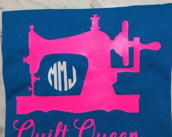 Quilt Queen Monogram Shirt