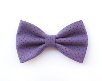 Bow tie purple lavender polka dot,tie for men,wedding bow tie groomsmen groom,accessories color lilac polka dots,pastel wedding inspiration