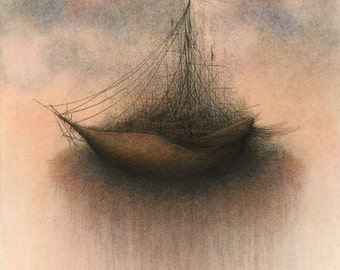 Last Known Ship - fine art reproduction
