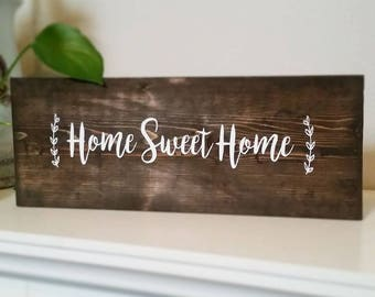 Home Sweet Home Sign Board