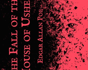 The Fall of the House of Usher by Edgar Allan Poe Paperback Book