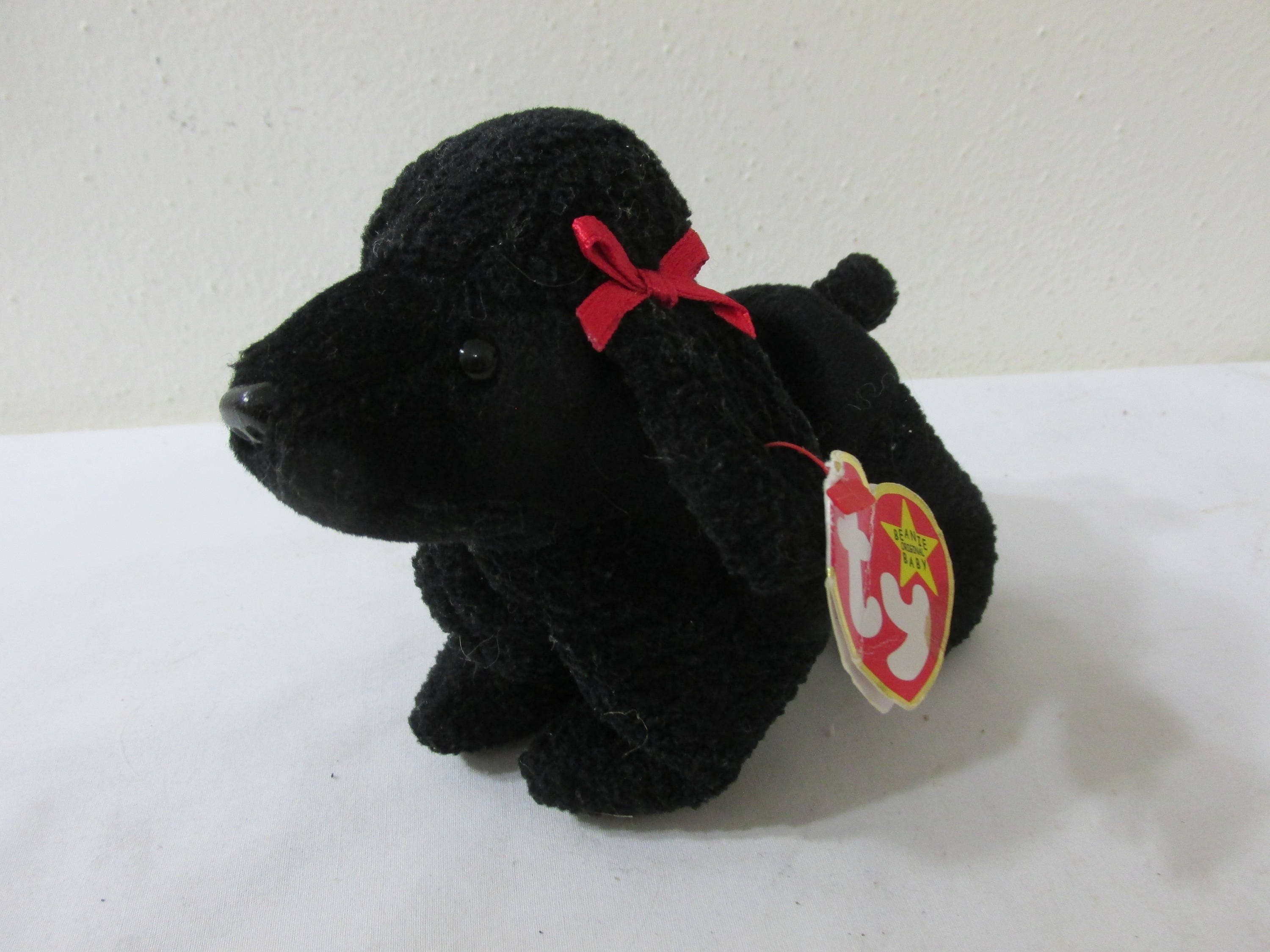 2d1d0ef168c Beanie Baby Black Poodle Gigi April 7 1997