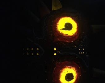 Majoras Mask  Glowing Eyes Edition