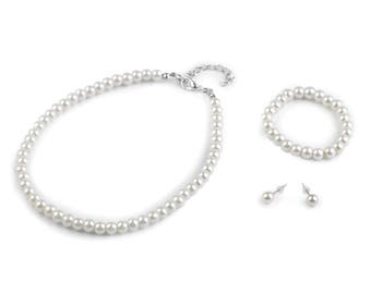 Bead jewelry set for girl