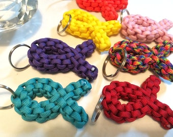 Paracord Cause Keychain, Keychain, Fob, Paracord Keychain, Paracord, Military Grade Paracord, Hiking Gear, Tween Gift, Key, Hope
