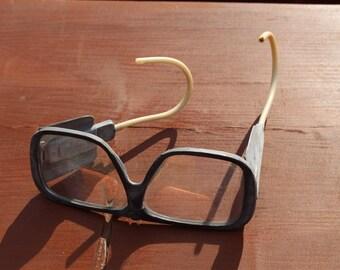 Soviet safety glasses 1975 Soviet goggles Vintage safety glasses Vintage eyewear Eye protection Halloween glasses