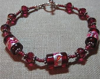 Pomegranate Seeds Bracelet - B138