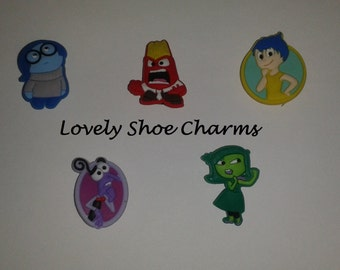 Inside Out Shoe Charms/Jibbitz (Set of 5)