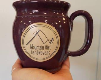 Mountain Girl Handwovens Mug