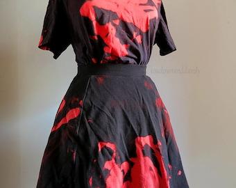 Blood Splatter Skirt