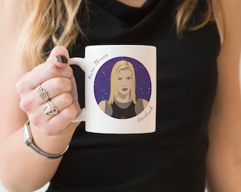 Females Are Strong As Hell Mug - Starbuck, Kara Thrace, Geek Mug, Fandom Mug, Gift for Geeks, Bad-Ass Females Collection, Gifts for Fans
